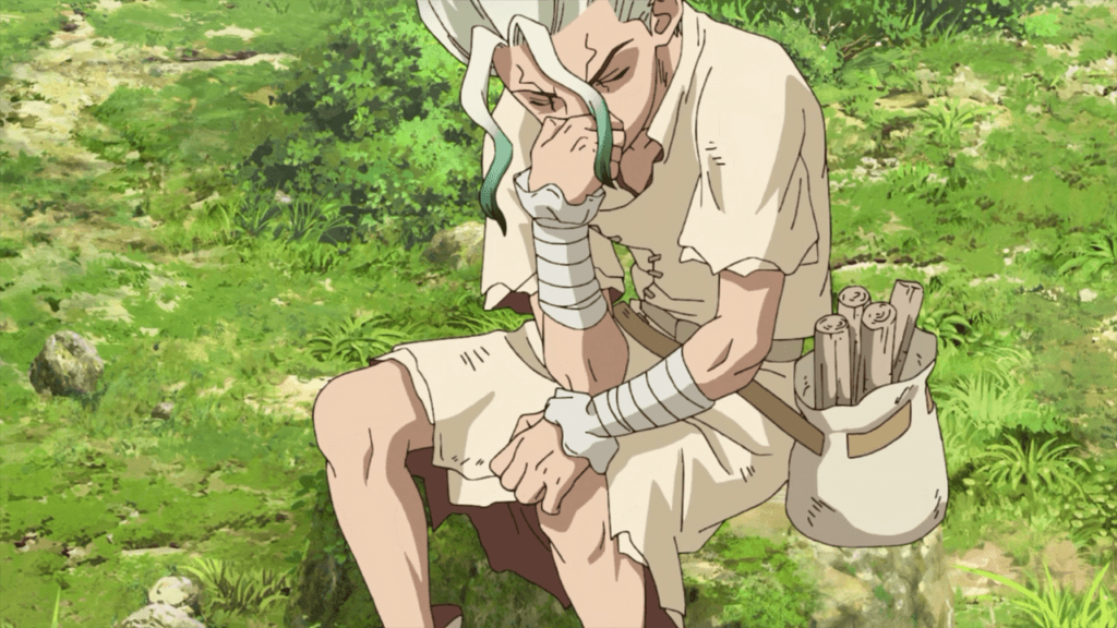 Dr. Stone 06 the thinker statue